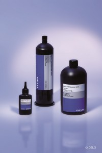 UV curing & light cured acrylic adhesive