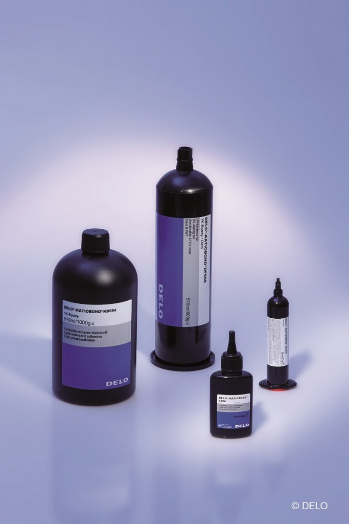 DELO-KATIOBOND– UV curing & light activated epoxy adhesives