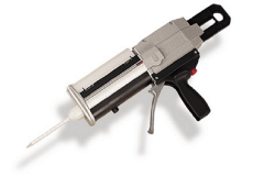 Hand, pneumatische of electrische dispensers, doseerpistool of dispnser gun voor 200ml / 400ml system cartridges