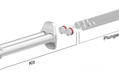 Double syringe, K-system