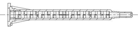 MAQ Bayonet style mengbuis, mengbuizen, static mixer of lijmnozzle