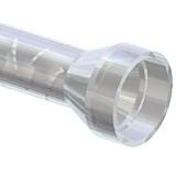 MCH Bell inlet style mengbuis, mengbuizen, static mixer of lijmnozzle