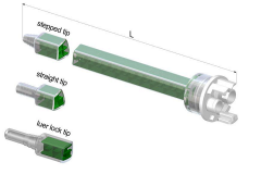 MFQ Separate outlets mengbuis, mengbuizen, static mixer of lijmnozzle