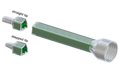 MGQ Screw connection inlet style mengbuis, mengbuizen, static mixer of lijmnozzle